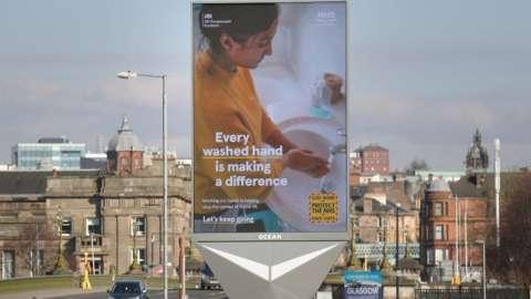 Glasgow health sign