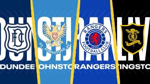 Dundee, St Johnstone, Rangers & Livingston