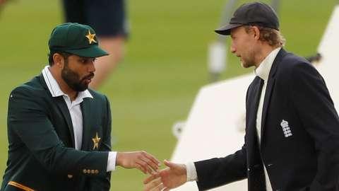 Pakistan captain Azhar Ali and England skipper Joe Root