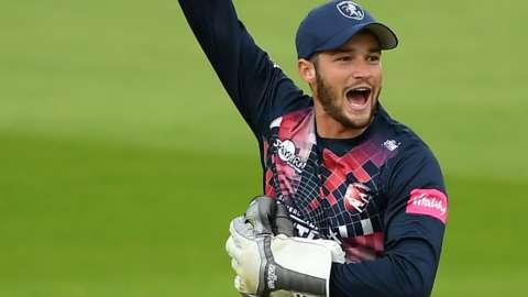 Kent wicketkeeper-batsman Ollie Robinson
