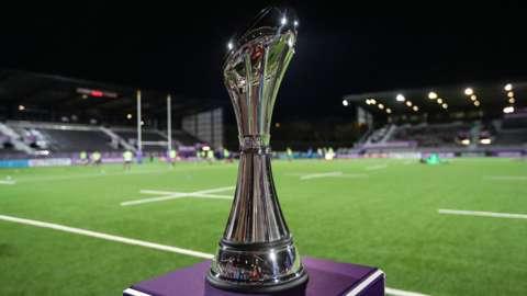 European Challenge Cup trophy