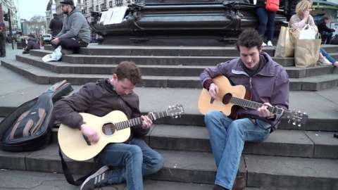 The proposal comes after Westminster City Council says it receives around 1,800 complaints about buskers a year.