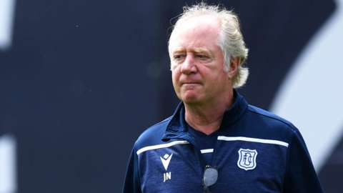 Former Dundee assistant manager Jimmy Nicholl