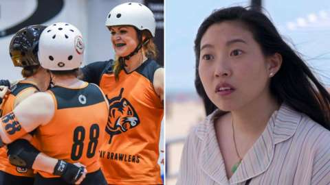 Hell on Wheels and Awkwafina is Nora from Queens