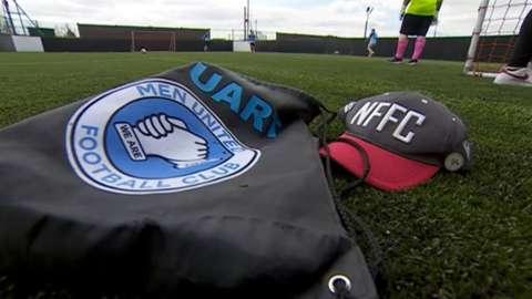 Men United logo