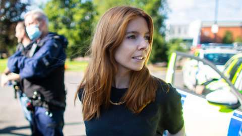 Stacey Dooley on location with the police