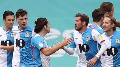 Blackburn celebrate