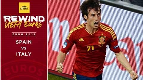 Spain v Italy - Euro 2012