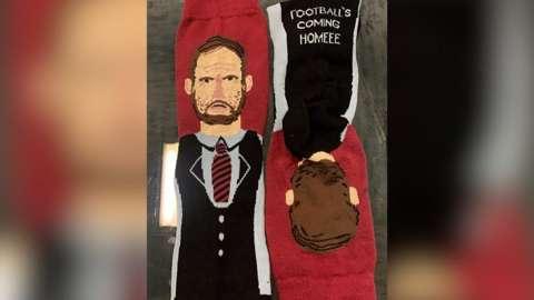 Gareth Southgate socks