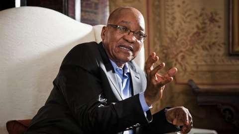 Jacob Zuma, ex-president of South Africa