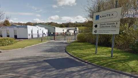 Kautex Textron factory