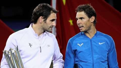 Federer and Nadal