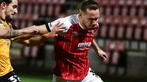 Chris Hussey has made exactly 100 EFL, FA Cup and League Cup appearances since signing from Sheffield United in 2018