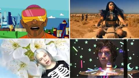 Music videos by Tinie Tempah, Megan Thee Stallion, Phoebe Bridgers and Twenty One Pilots