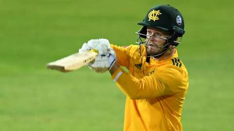 Notts Outlaws' Ben Duckett