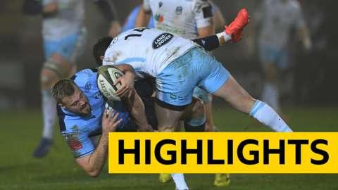 Pro14 highlights: Cardiff Blues 10-19 Glasgow Warriors