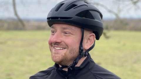Cyclist Gaz Emmerson