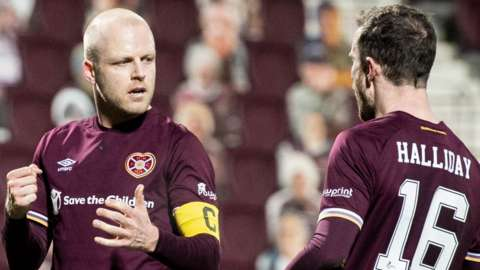 Steven Naismith and Andy Halliday