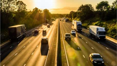 A motorway in Britain