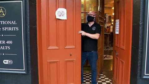 Doors close at pub