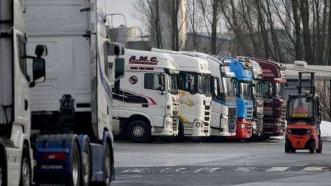 hauliers stuck