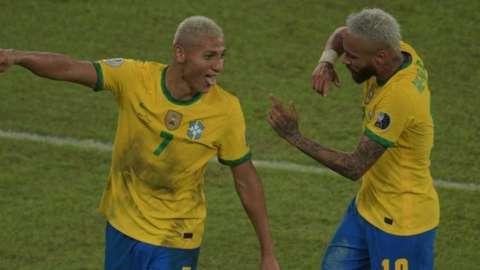 Richarlison and Neymar