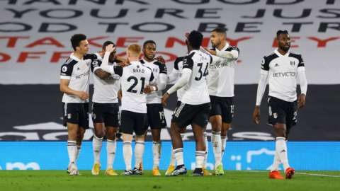 Fulham score