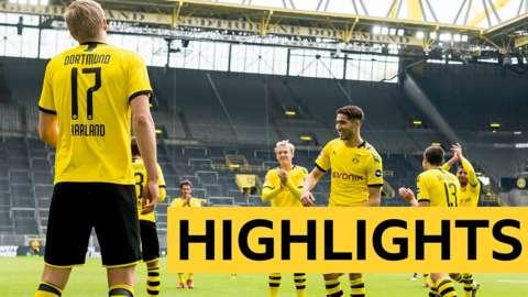 Borussia Dortmund 4-0 Schalke