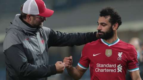 klopp and salah