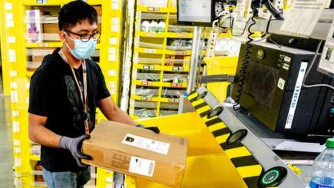 Amazon worker