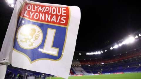 Lyon corner flag