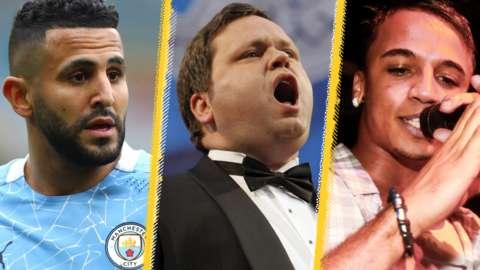 Riyad Mahrez, Paul Potts & JLS