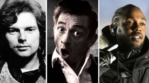 Van Morrison, Johnny Cash and Kendrick Lamar