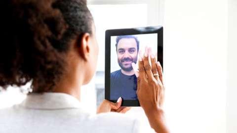 Virtual video date