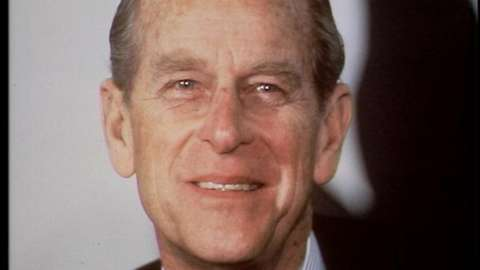 Prince Philip in 1990