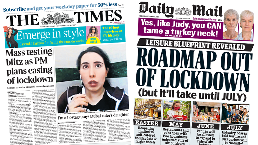 The Papers 17 February 2021