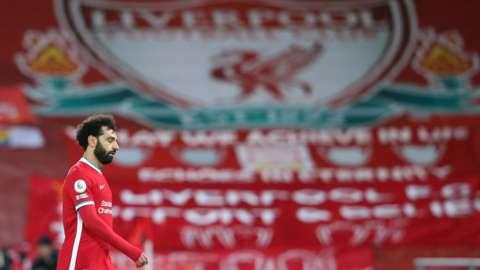 Mohamed Salah at Anfield