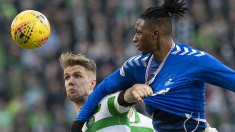 Celtic against Rangers