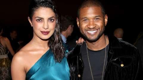 Priyanka Chopra and Usher