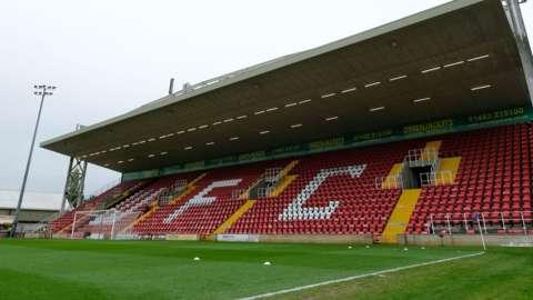Woking's Laithwaite Community Stadium