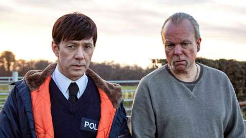 Cast members from Inside No. 9