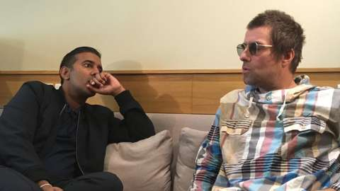 Nihal and Liam Gallagher