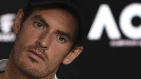 Andy Murray is not allowed to travel to the Australian Open