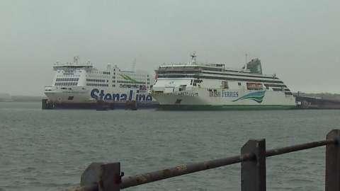 Ferries at Holyhead