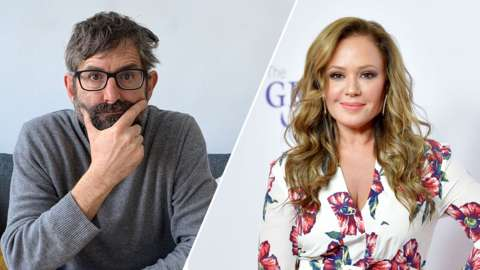 Theroux and Leah Remini