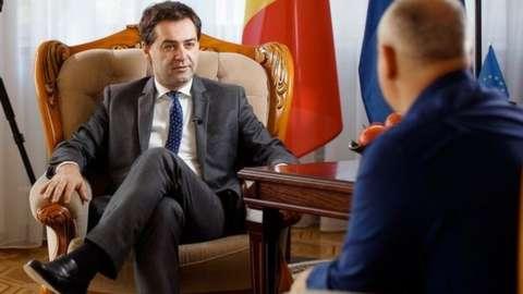 Moldovan Foreign Minister Nicu Popescu