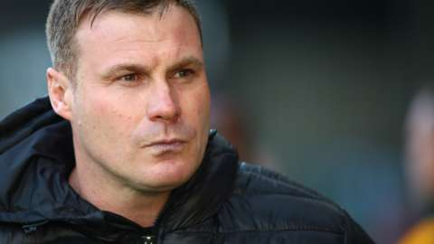 David Flitcroft's most recent role in management was at Mansfield in May 2019