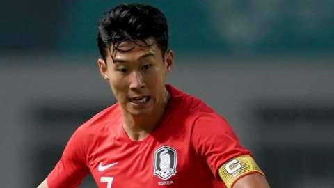 South Korea forward Son Heung-min
