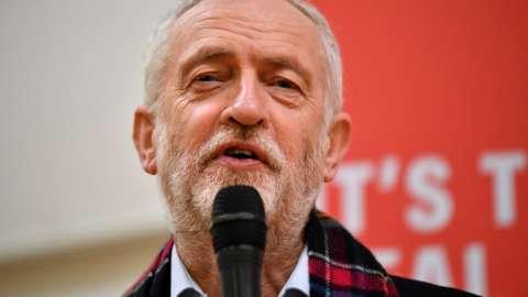Jeremy Corbyn visits Scotstoun, Glasgow