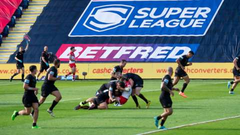 Generic image of Super League action